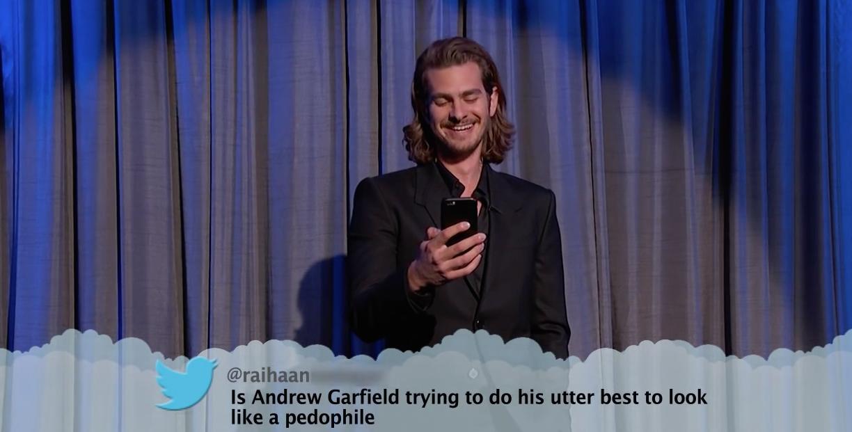 Mean-Tweets-Andrew-Garfield