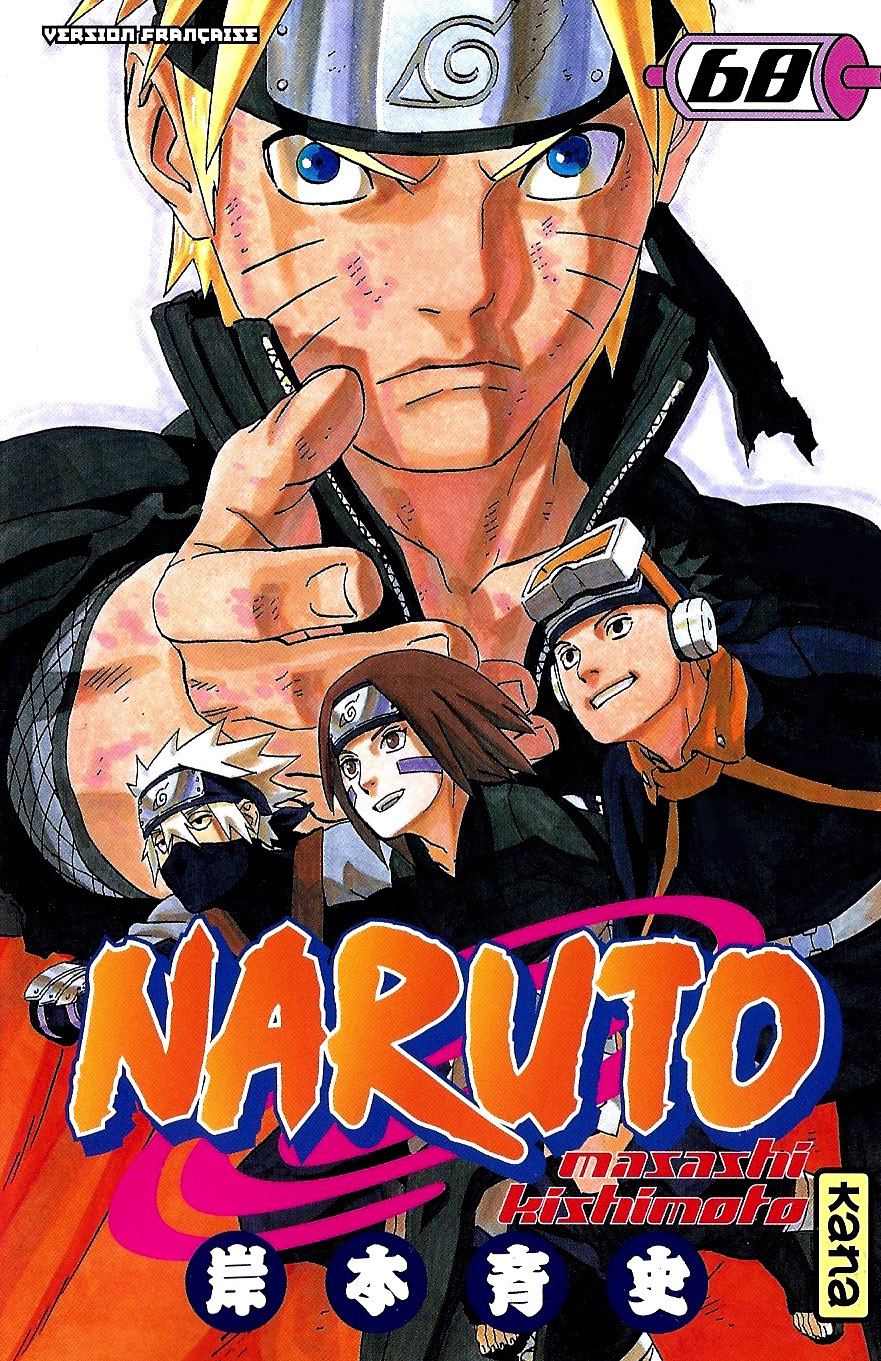 Naruto Tome 68 Couverture