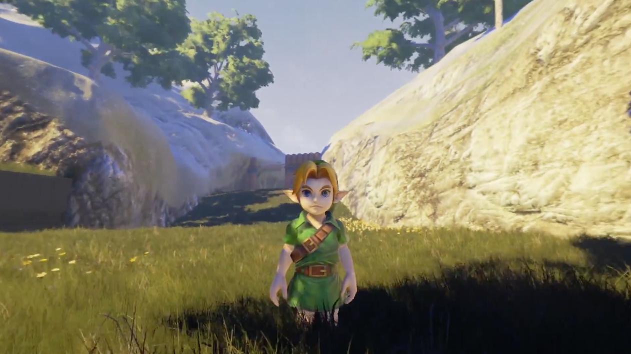 Ocarina-Of-Time-Unreal-Engine-4-Village-Cocorico-3