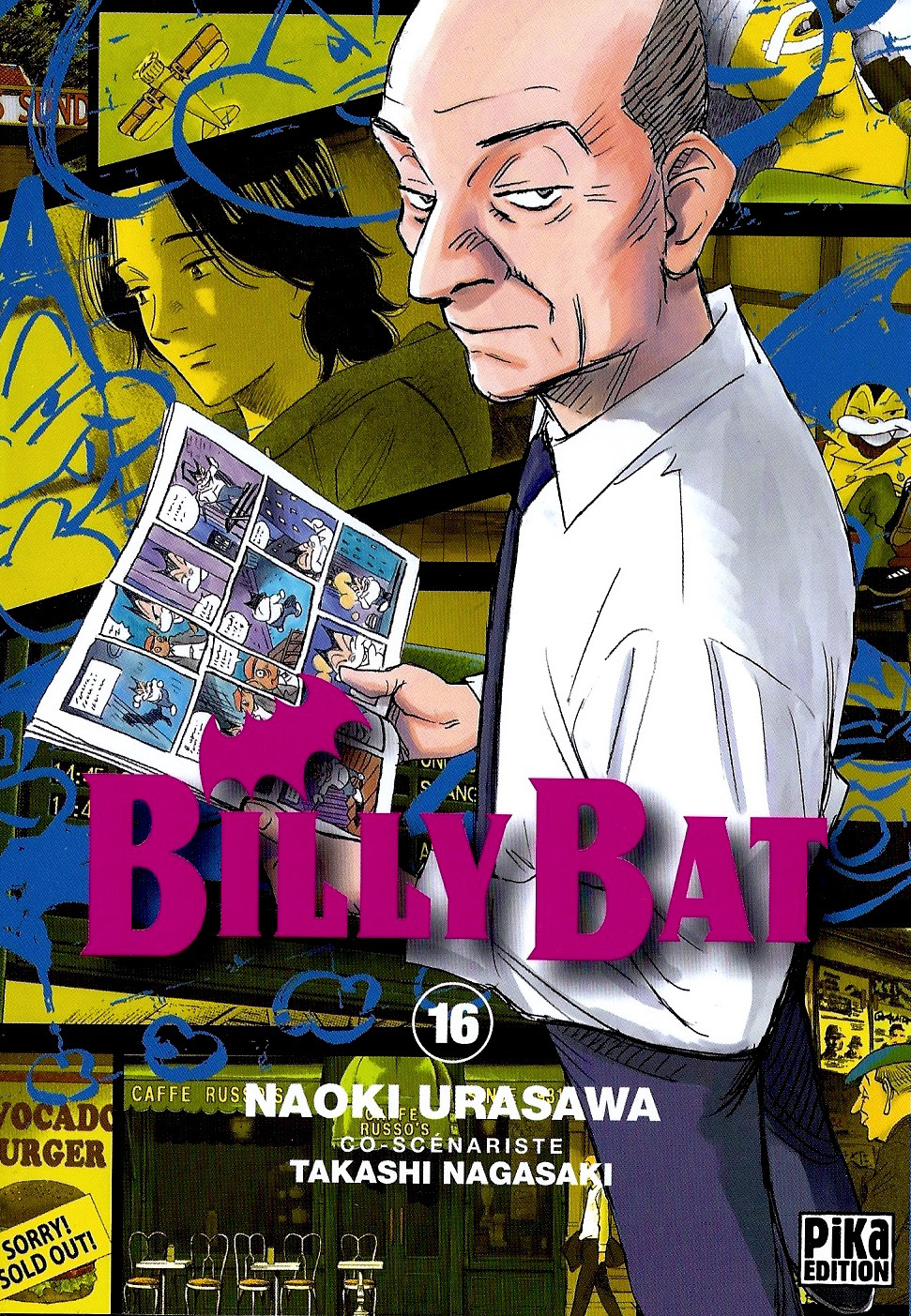 Billy Bat Tome 16