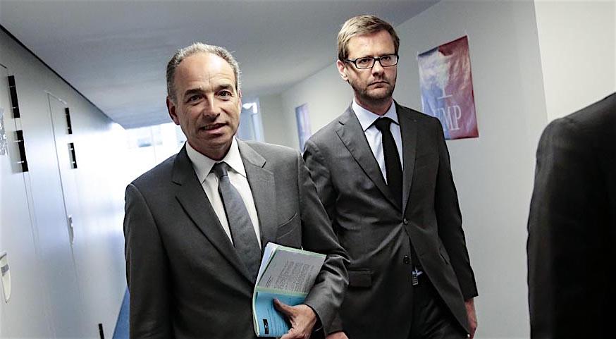 Conference de presse de l UMP sur les européenne