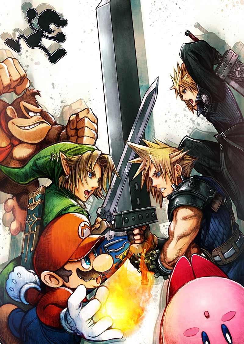 Cloud-Super-Smash-Bros-4
