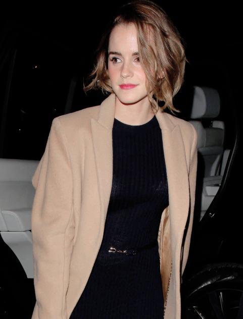 Et sinon, Emma Watson est revenue aux Cheveux Courts - YZGeneration