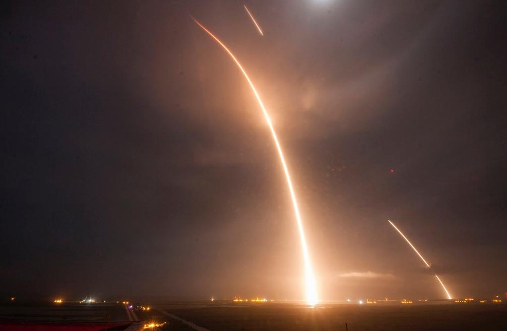 SpaceX-Elon-Musk-Fusee-1