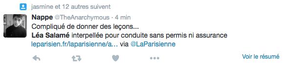 Lea-Salame-Conduite-Sans-Permis-1