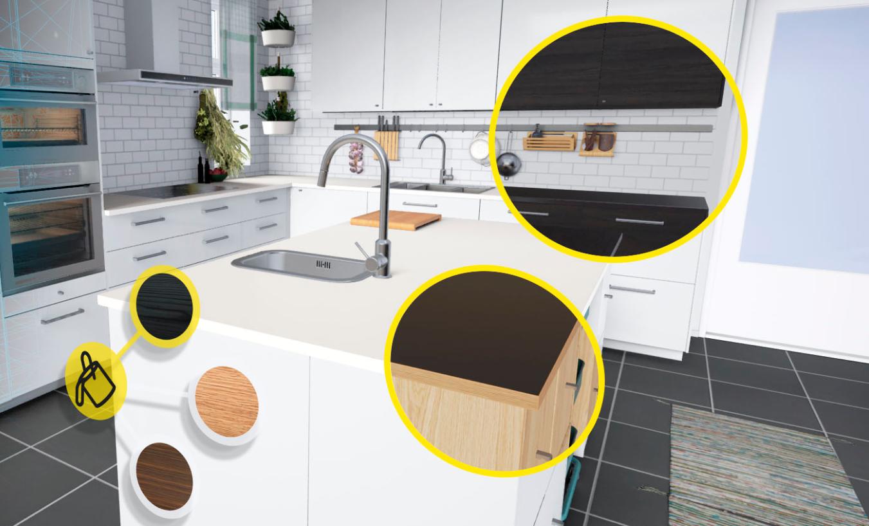 et sinon ikea vient de sortir sa simulation de cuisine vr yzgeneration. Black Bedroom Furniture Sets. Home Design Ideas