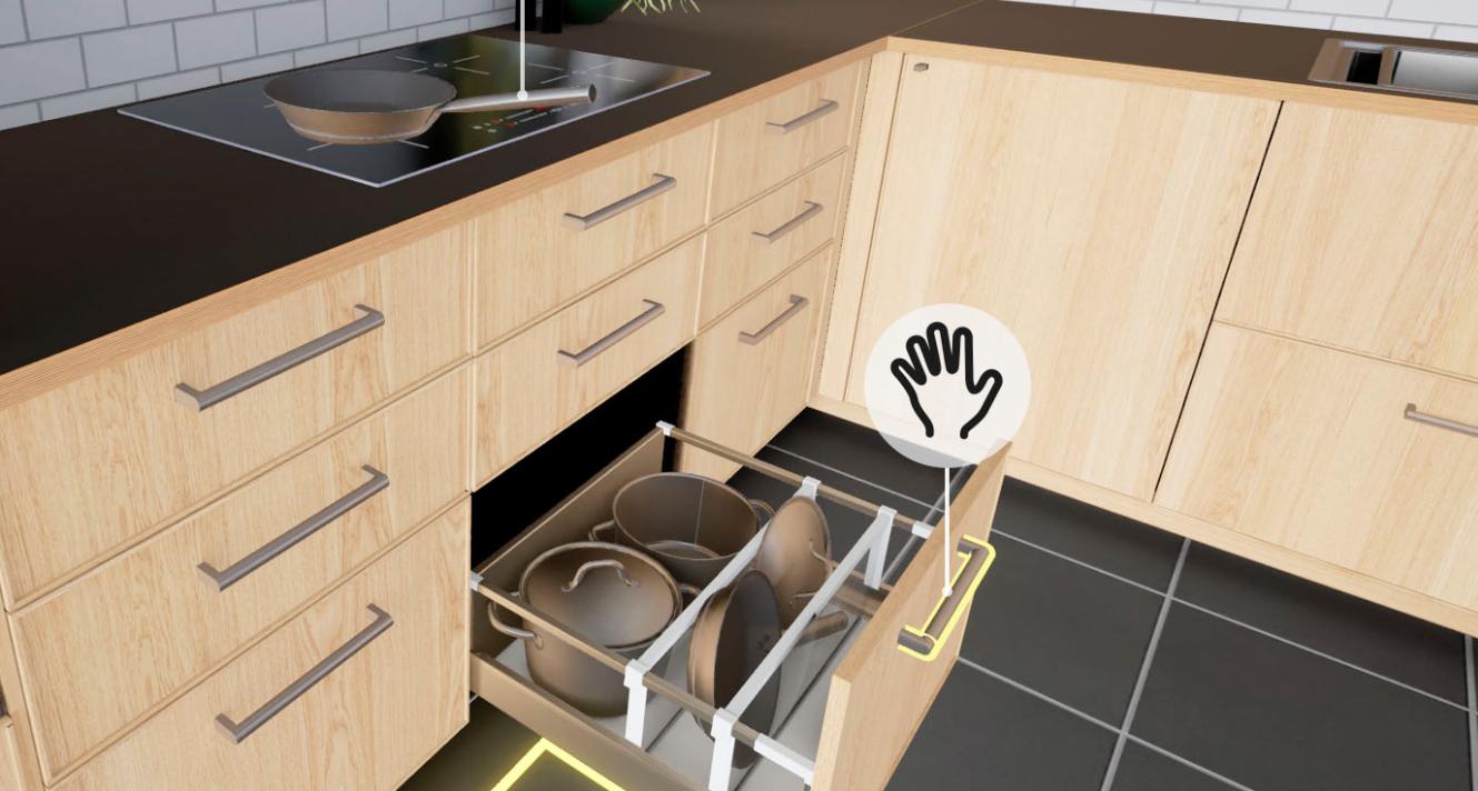 Et sinon ikea vient de sortir sa simulation de cuisine vr for Cuisine ikea simulation
