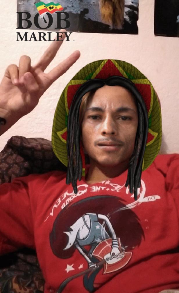 Snapchat-Bob-Marley-1