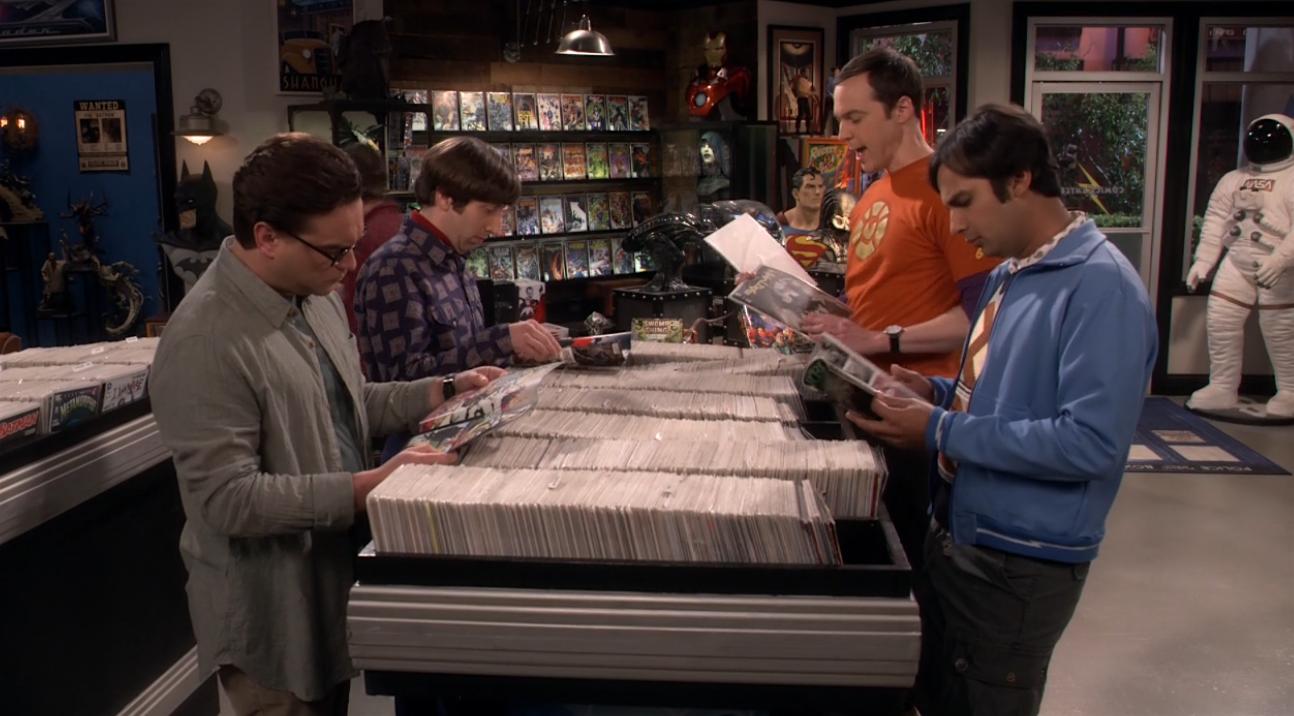 The Big Bang Theory Saison 9 Épisode 21-1