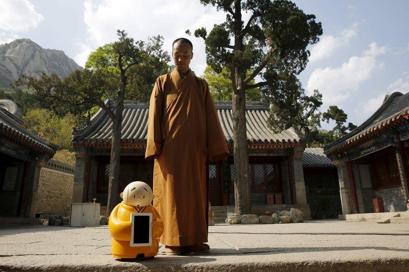 Xianer-Robot-Bouddhiste-1