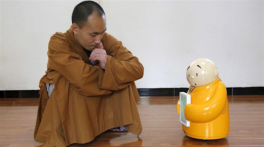 Xianer-Robot-Bouddhiste