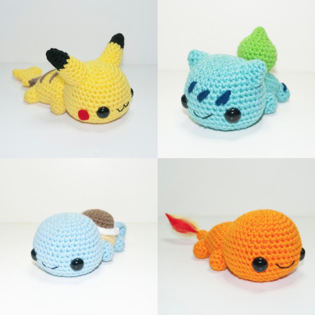 Crocheting Pokemon : Juste des Peluches PokEmon en Crochet - YZGeneration