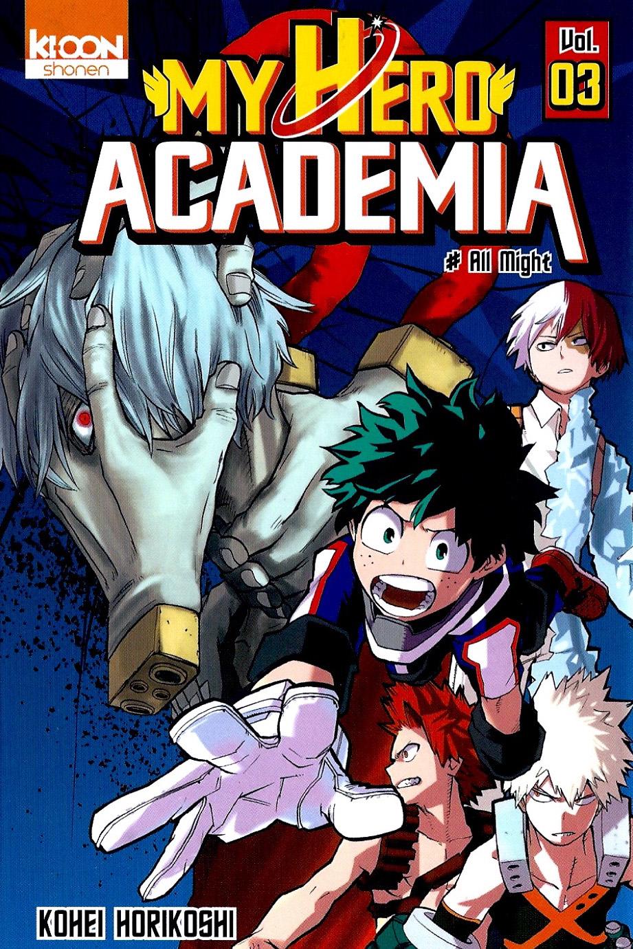 My Hero Academia Tome 03