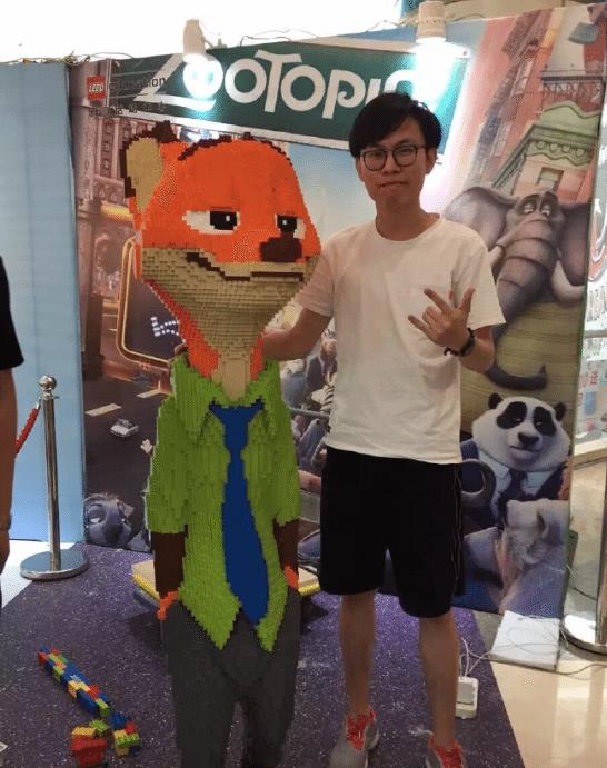 Zootopie-Sculpture-Lego-Nick-Chine-1