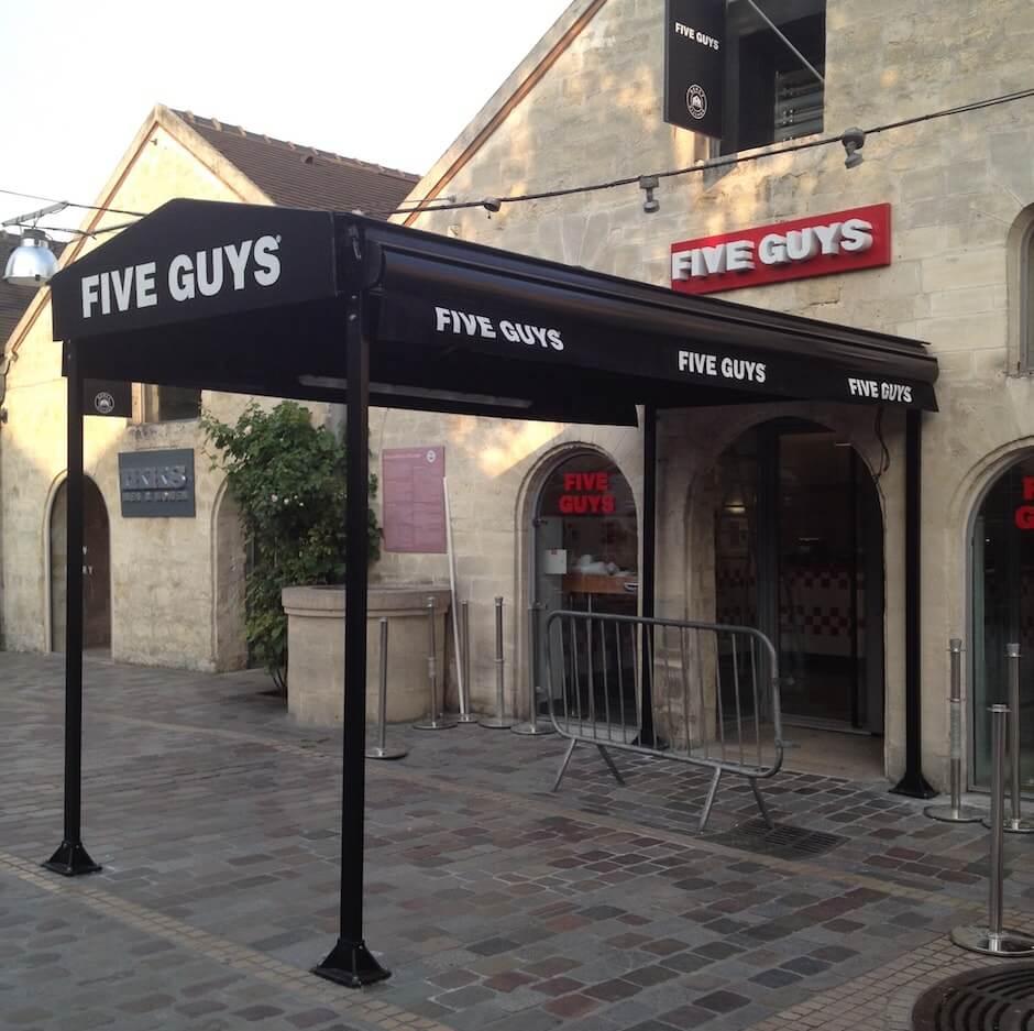 Five guys au bercy village paris ouverture le 1er ao t for Porte z bercy
