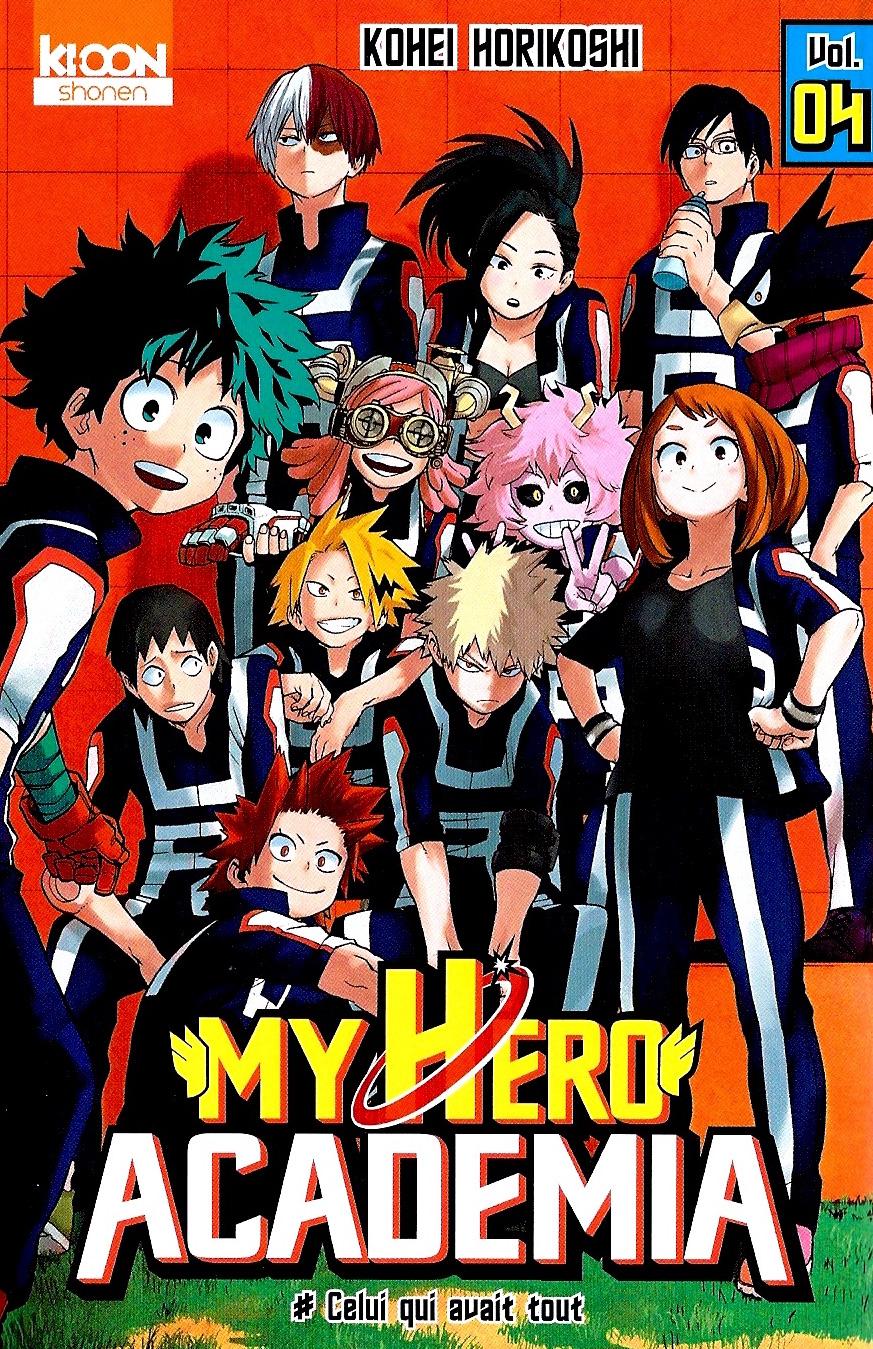 My Hero Academia Tome 04