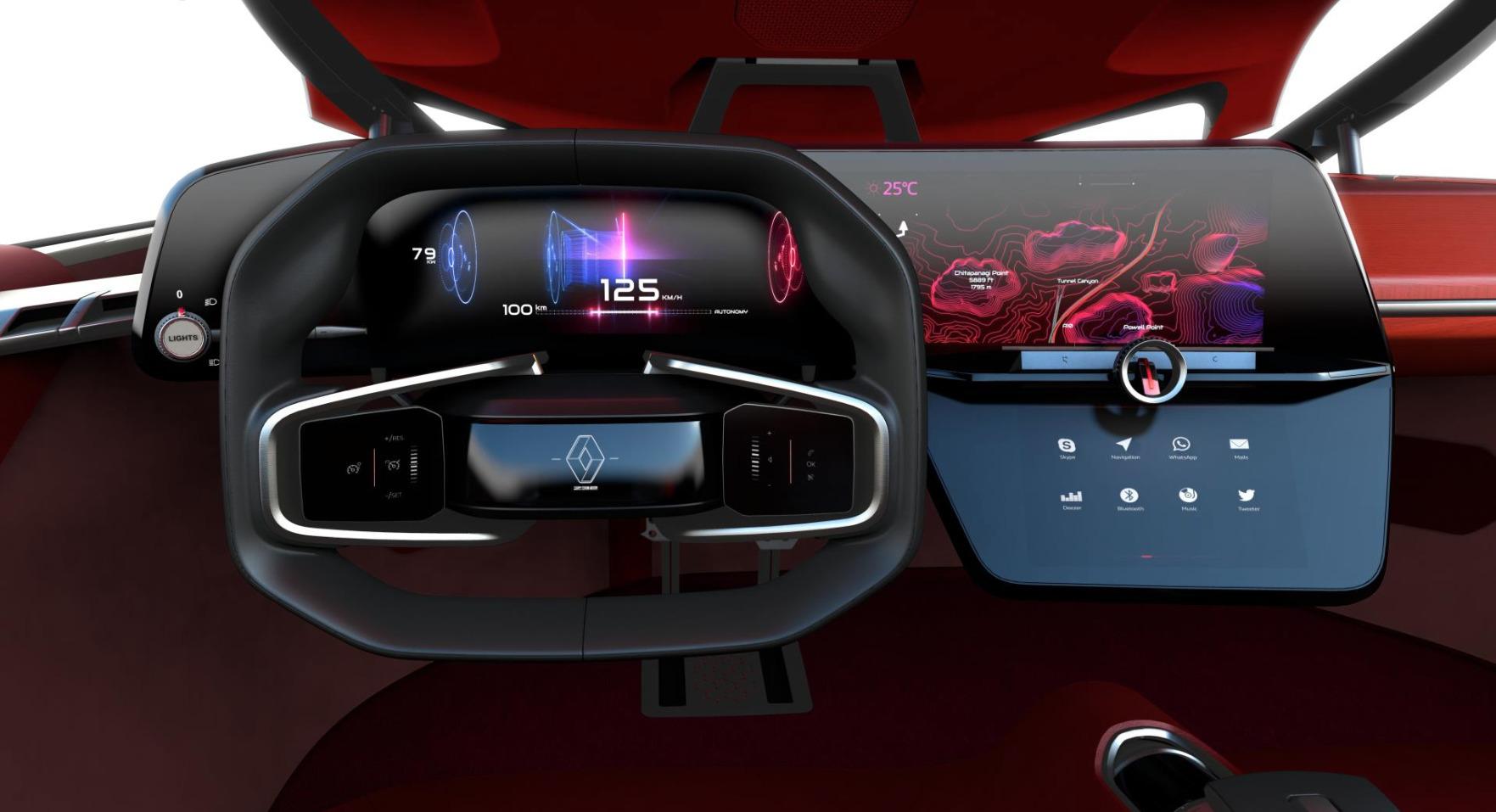 Renault TreZor : Juste la Voiture Électrique du Futur - YZGeneration