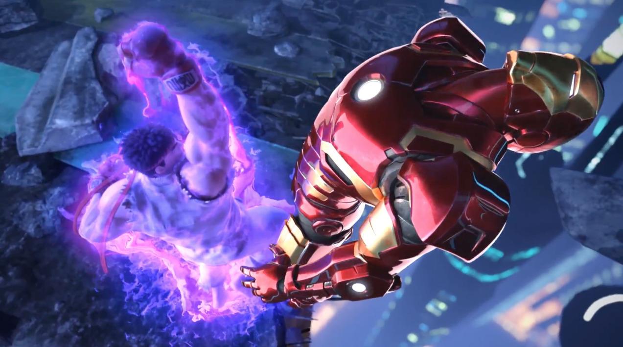 marvel vs capcom infinite    u00ab ryu a toujours  u00e9t u00e9 plus fort que iron man hein