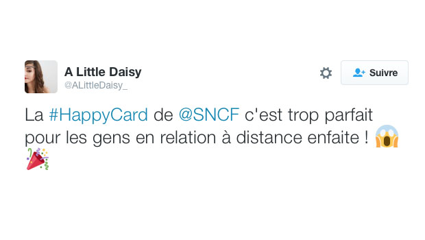 happy card sncf