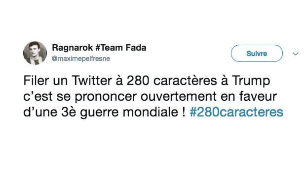 280 Caractères
