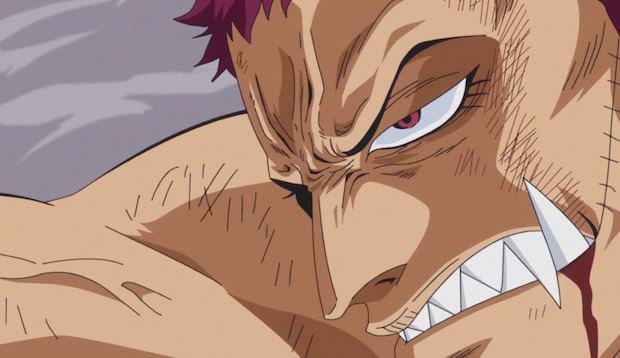 Le Combat Entre Katakuri Et Luffy